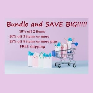 BUNDLE and SAVE BIG!!!!!!